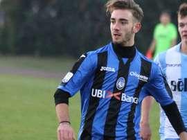 Andrea Rinaldi estava emprestado pela atalanta ao modesto Legnano. Atalanta