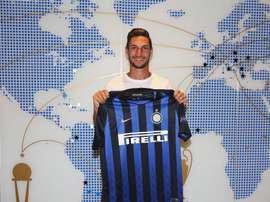 Politano jouera à l'Inter Milan la saison prochaine. Twitter/Inter