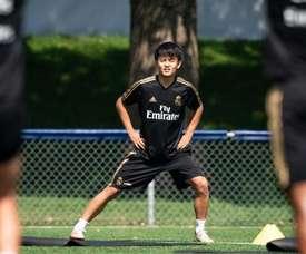 Il talentino giapponese del Maiorca, ma di proprietá Real, Kubo. EFE