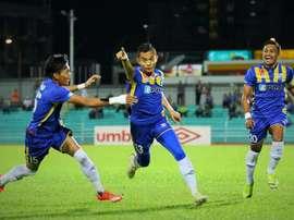 El futbolista malayo Faiz Subri, autor del gol con el efecto más extraño de la década. Twitter