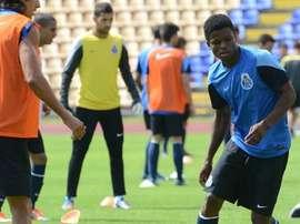 Depois de duas épocas quase sem jogar, Agu vem apresentando o seu melhor nível. FCPorto