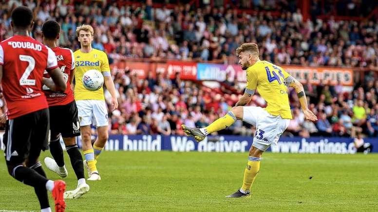 El Leeds se aleja del ascenso directo. Twitter/LUFC