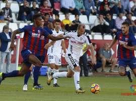 Vadillo se perderá varios partidos del Huesca. LaLiga