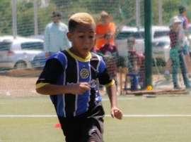 Brayan Navarro tenía 10 años y jugaba para Mineros de Guayana. Twitter