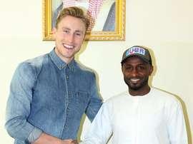 El futbolista Zac Anderson deja el Emirates. Ahdaafme