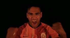 Falcao é o novo reforço do time turco. Galatasaray