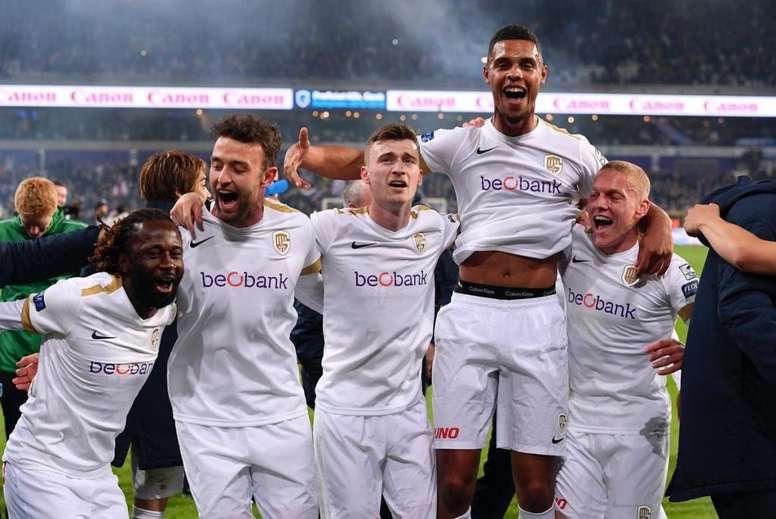 El Genk, campeón de la Supercopa. RBFA