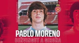 El Girona sigue apuntalando la plantilla. Twitter/GironaFC
