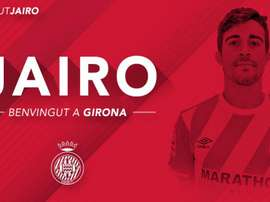 Le joueur canarien a fait ses gammes dans les catégories inférieures de Tenerife. Twitter/GironaFC