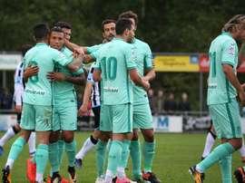 El Granada se lleva la victoria ante el Al Wasl. GranadaCF