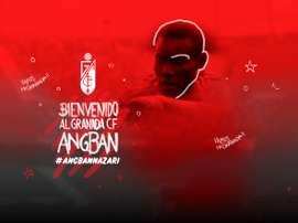 El Granada da la bienvenida a Angban. GranadaCF