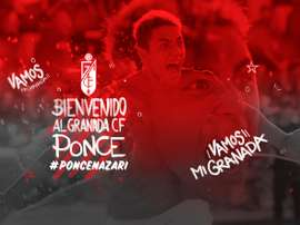 Grenade souhaite la bienvenue à Ezequiel Ponce. GranadaCF