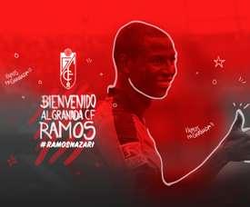 Adrian Ramos est prêté à Grenade jusqu'à la fin de la saison. GranadaCF