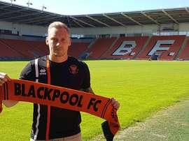 El Blackpool ya tiene cancerbero para la próxima temporada. Blackpool