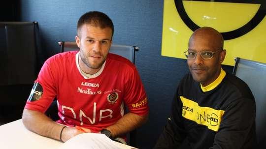 Marko Maric ya ha firmado contrato con el Lillestrom. LillestromSK
