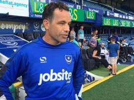 El guardameta David Forde, durante un partido con el Portsmouth FC. OfficialPompey
