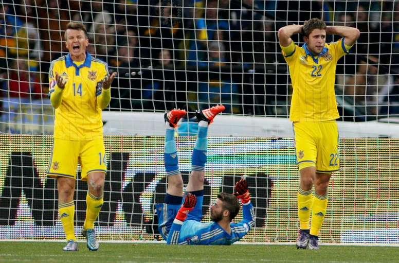 Rotan (i) vuelve al Dinamo de Kiev. EFE