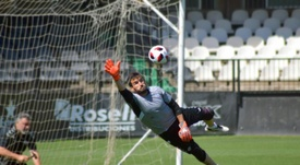 Álvaro lo ha jugado todo esta temporada. Twitter/CD_Castellon