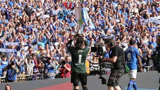 Lee dejó el fútbol tras una grave lesión. ChesterfieldFC