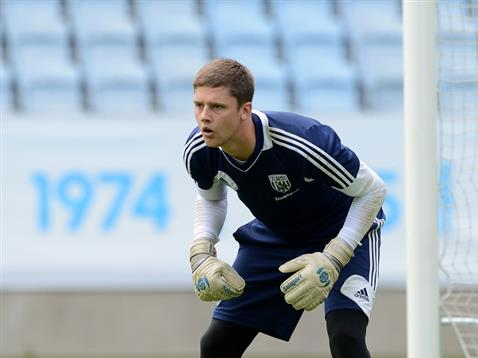 El guardameta del West Bromwich Albion Jack Rose jugará hasta final de temporada en el Crawley. WBA
