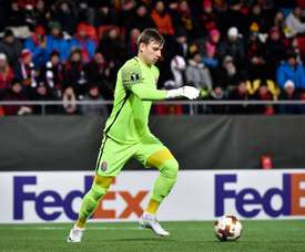 Leicester City et Watford batailleront pour Andriy Lunin. AFP