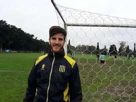 Fermín Holgado, nuevo jugador de Almirante Brown. ClubAlmiranteBrown