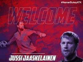 Jussi Jääskeläinen, nuevo jugador de Atlético de Kolkata. AtléticodeKolkata
