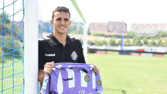 Jordi Masip es indiscutible en el Valladolid. Twitter/RealValladolid