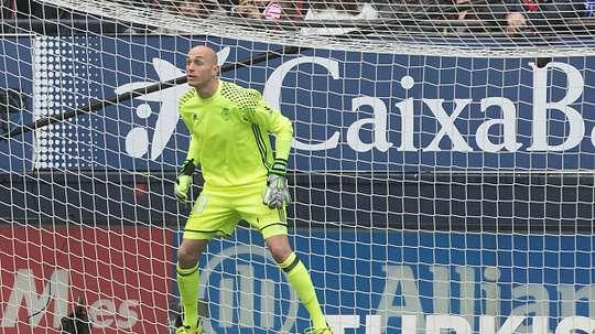 Nauzet pourrait débuter en Ligue des champions à 32 ans. CAOsasuna