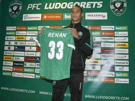 Los directivos del Ludogorets han llegado a un acuerdo con el guardameta Renan. PFCLudogorets1945