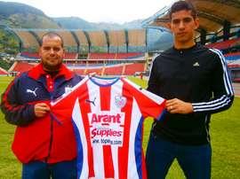 Richard Ruiz, nuevo jugador de Estudiantes de Mérida. EstudiantesDeMéridaFC