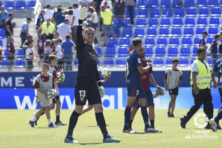 La lesión de Yáñez con la SD Huesca. LaLiga