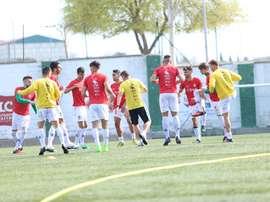 El Guijuelo demostró que marcar siete goles en una hora al rival es posible. ClubDepGuijuelo