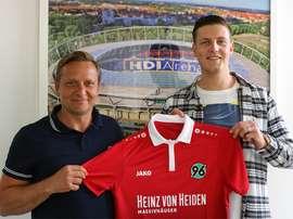 El Hannober 96 anunció la incorporación de Kevin Wimmer. Hannover96