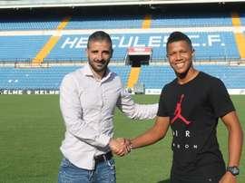 Alvarado ya es nuevo jugador del Hércules. CFHércules