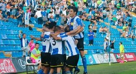 Benito está satisfecho con el arranque de temporada del equipo. CFHércules