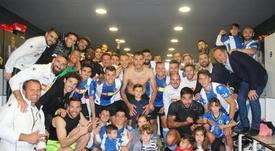 El Hércules visita al Barakaldo. Twitter/cfhercules