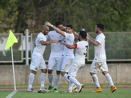 El Hércules consiguió el pase a la tercera ronda de la Copa del Rey. CFHércules
