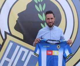 Lluís Planagumà llegó el pasado julio para entrenar al Hércules. CFHércules