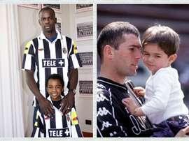 El hijo de Thuram marcó al Lyon y el de Zidane fue titular con el Alavés. Twitter