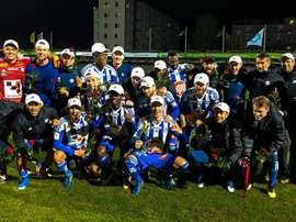 El HJK se proclamó campeón de Finlandia. Twitter/hjkhelsinki