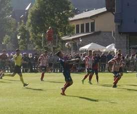 El Huesca venció 5-0 al Atlético Monzón. SDHuesca