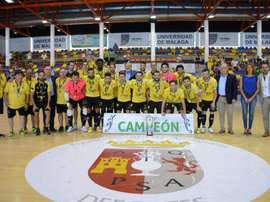 El Jaén venció por la mínima. Twitter/JaenFS