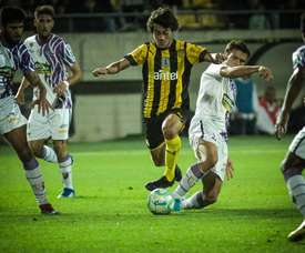 Un jeune espoir uruguayen suivi par le Real Madrid.  Twitter/PEÑAROL