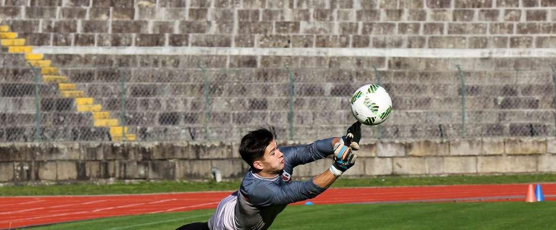 El joven guardameta del Sporting de Braga, Tiago Sá, suena para el Sevilla. SCBraga