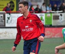 Iker San Vicente serait un nouveau joueur du Barça. Twitter