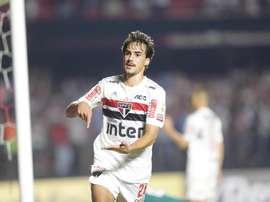 Selon le coach d'Igor Gomes, ce sera difficile de le retenir.  Twitter/SaoPauloFC