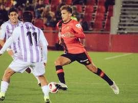 Pablo Ramón fue titular en Copa. Twitter/RCDMallorca