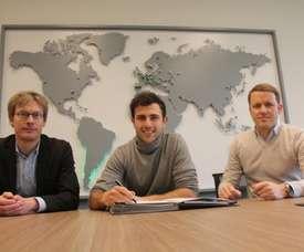 El contrato de Mehmedi se extiende hasta 2022. Twitter/Wolfsburgo
