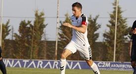 Adri Gómez pone rumbo a la Superliga de Kazajistán. Twitter/AlbaceteBalompié